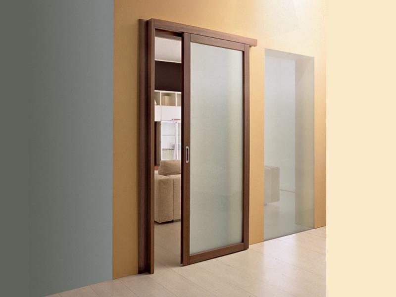 Сдвижные двери на кухню своими руками 72